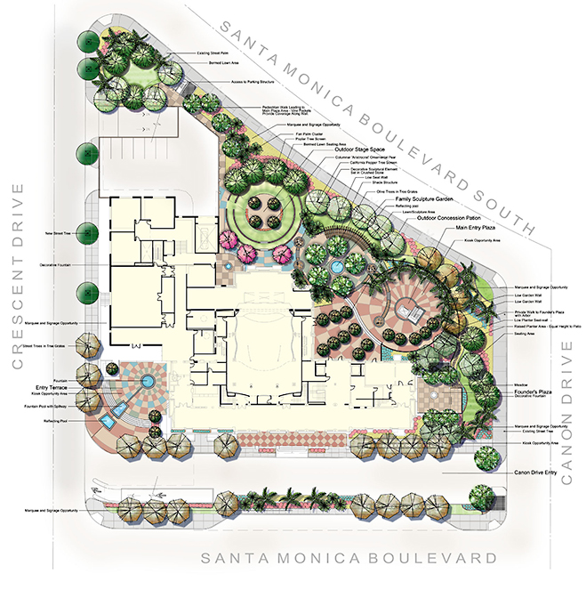 Residential landscape plan images for Residential landscape plan